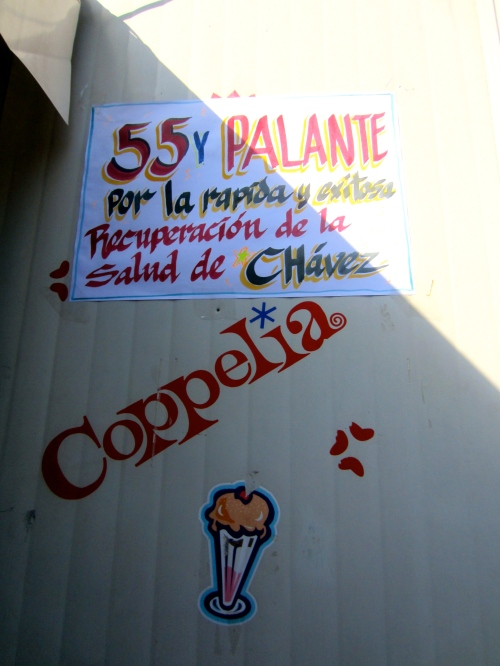 The best/worst communist ice cream I've ever had (wishing Chavez a speedy recovery)