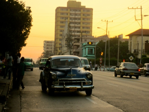 Loving the old cars, downtown Havana