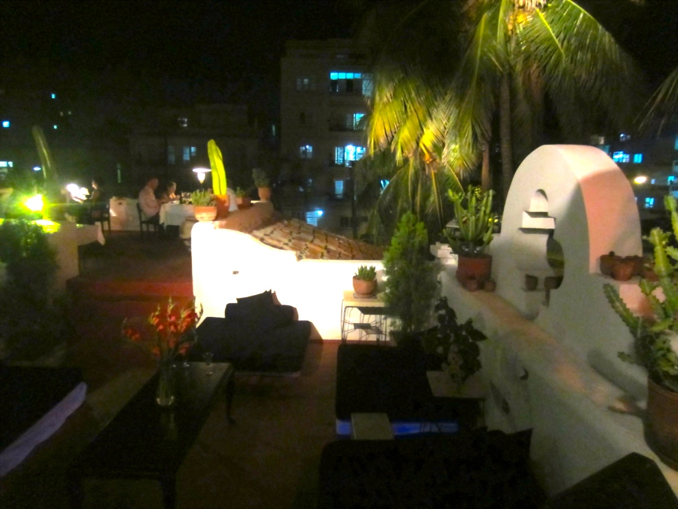 Rooftop Drinks at one of Havana's best Paladars, Atelier