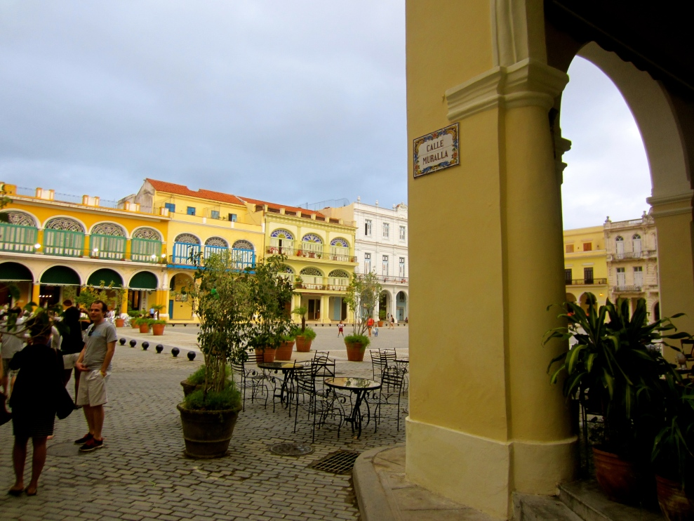 Old town Havana (restored)