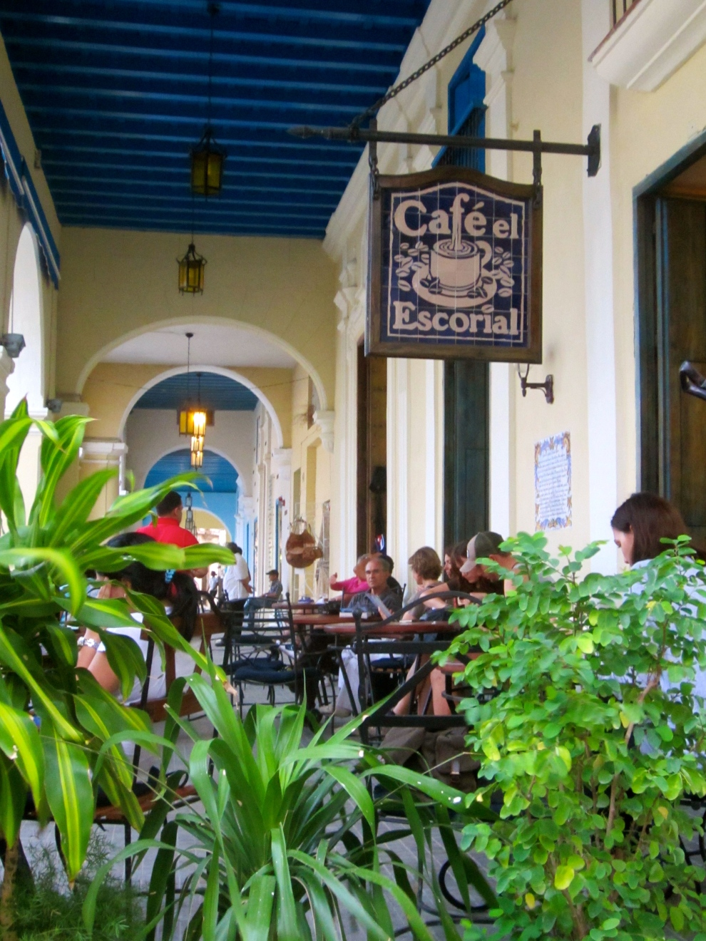 Cafe in old town Havana