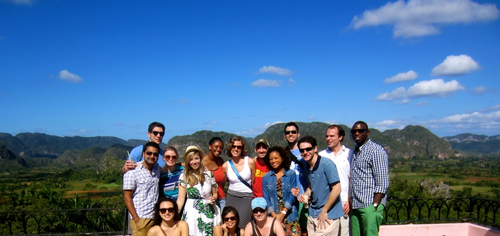 Day trip to Vinales, Pinar del Rio (group photo!)