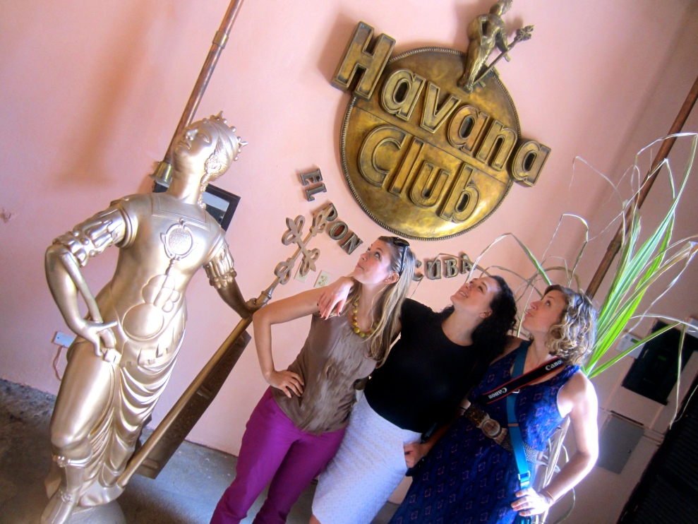 Visiting the Havana Club Rum museum