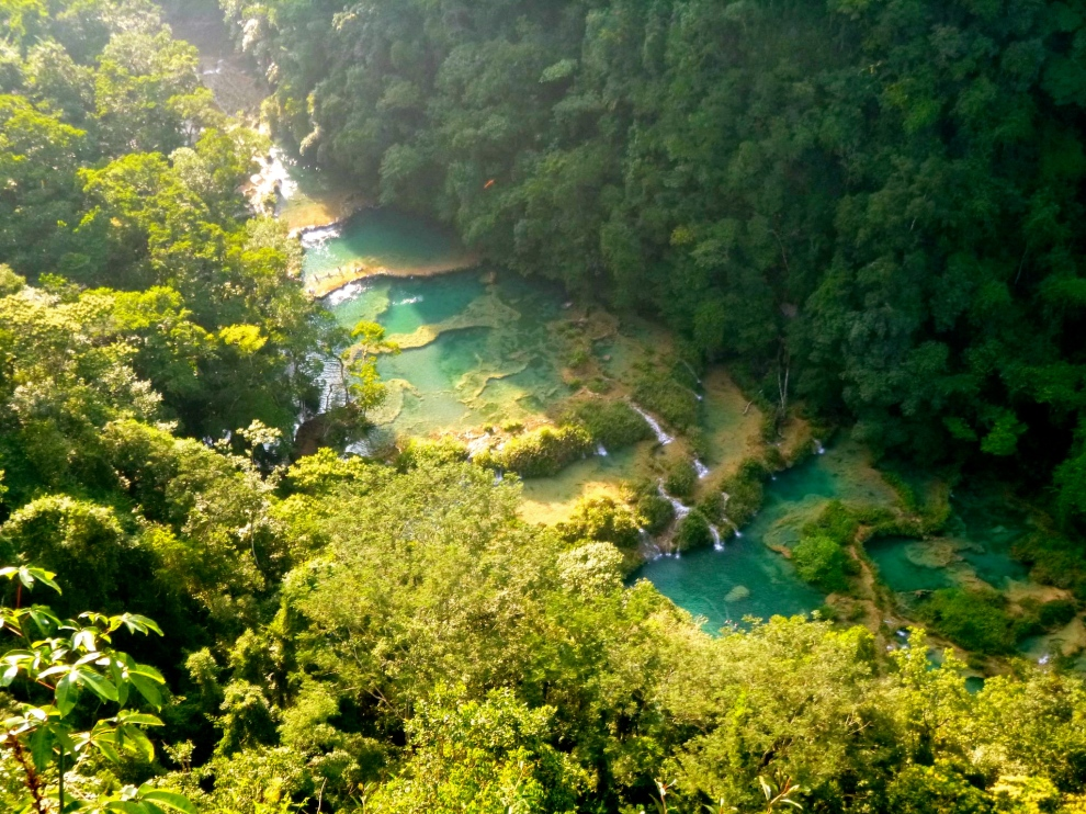 The pools at Semuc Champey