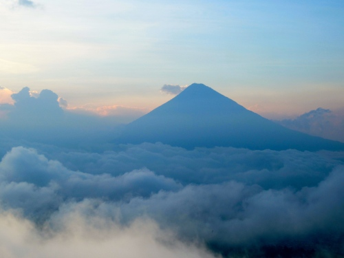 View from Pacaya Volcano
