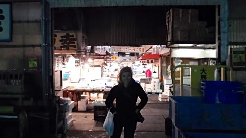 5 AM at the Tsukiji Fish Market, Tokyo