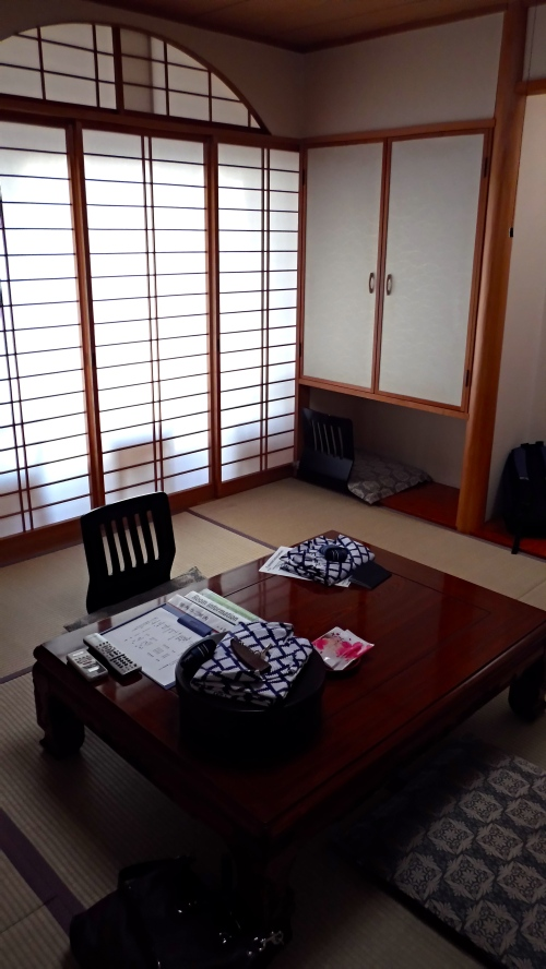 Our ryokan room