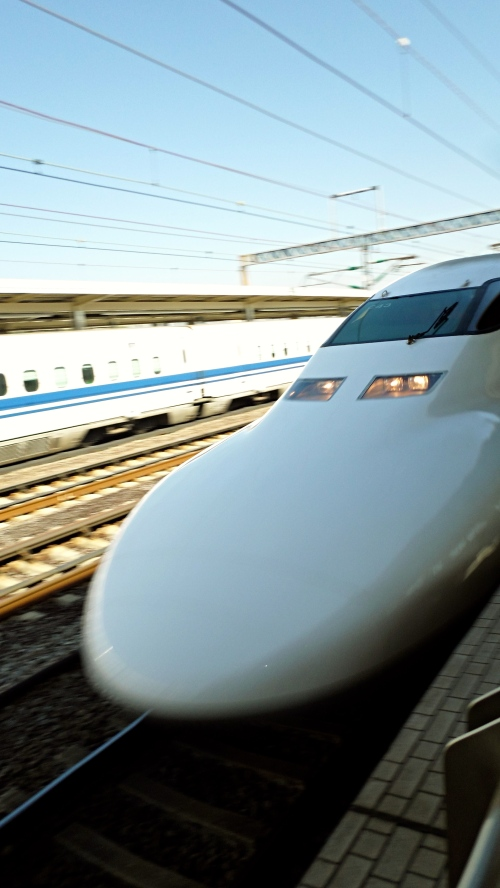 Shinkasen bullet train