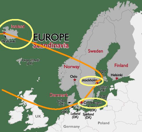 Scandinavia + Iceland Trip May 2013