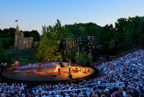 Shakespeare in the Park (photo credit: NYHabitat)