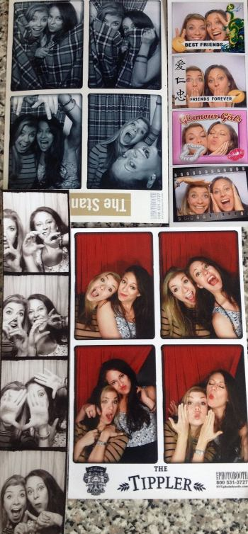 Photobooth bar crawl